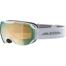Alpina Pheos S MM Goggles white mandarin spherical